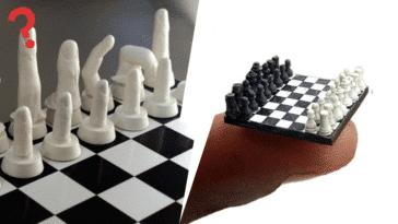 jeux échecs échiquiers insolites bizarres loufoques pièces