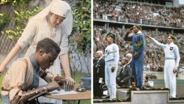 photos historiques recolorées