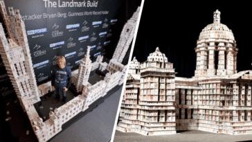 châteaux de cartes construction bryan berg art