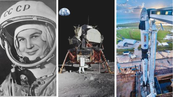 dates clés pionniers exploration spatiales importantes espace satellites planètes sonde