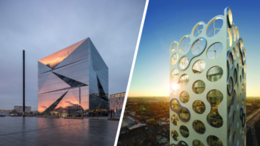 immeubles buildings gratte-ciels éco-responsables verts écologiques