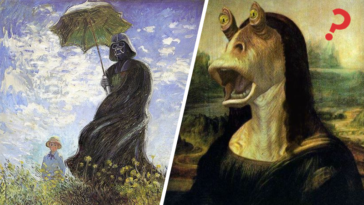 star wars tableaux célèbre art classique détournement incruster intégrer