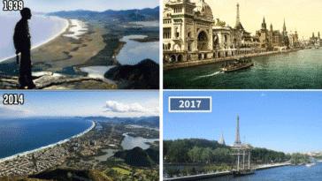 photos avant/après change monde vite modifications paysage
