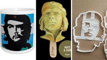Ernesto Che Guevara portraits objets insolites photo